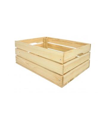 Skrzynka drewniana na wino 60x40