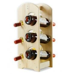 Stojak na wino MINI 9-6 lakier