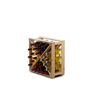 Stojak na wino CUBE 24