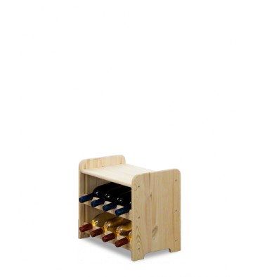 Stojak na wino CLASSIC 8P