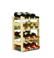 Stojak na wino BASIC 12 PROMO